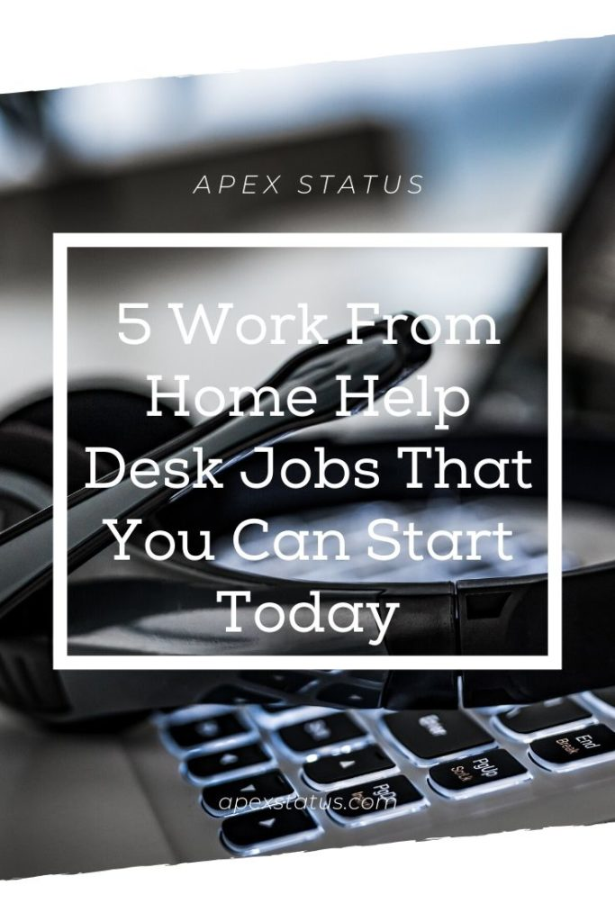 Earn Money at a Help Desk Work From Home Job