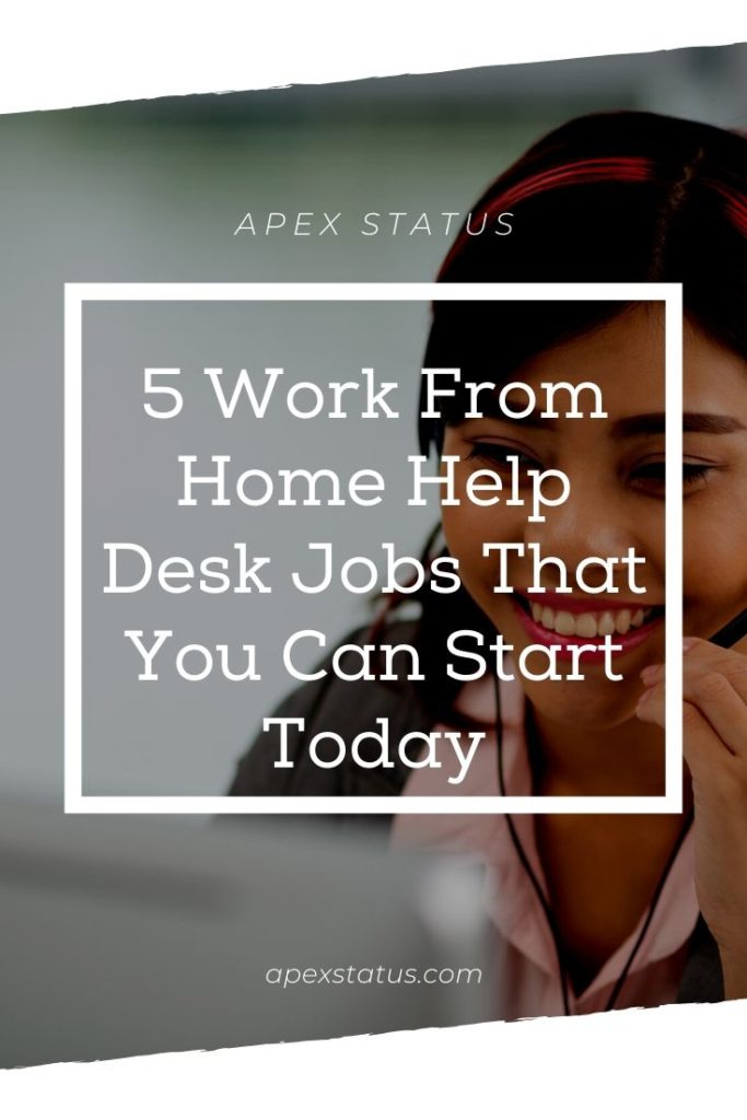Help Desk Jobs You Can Do At Home