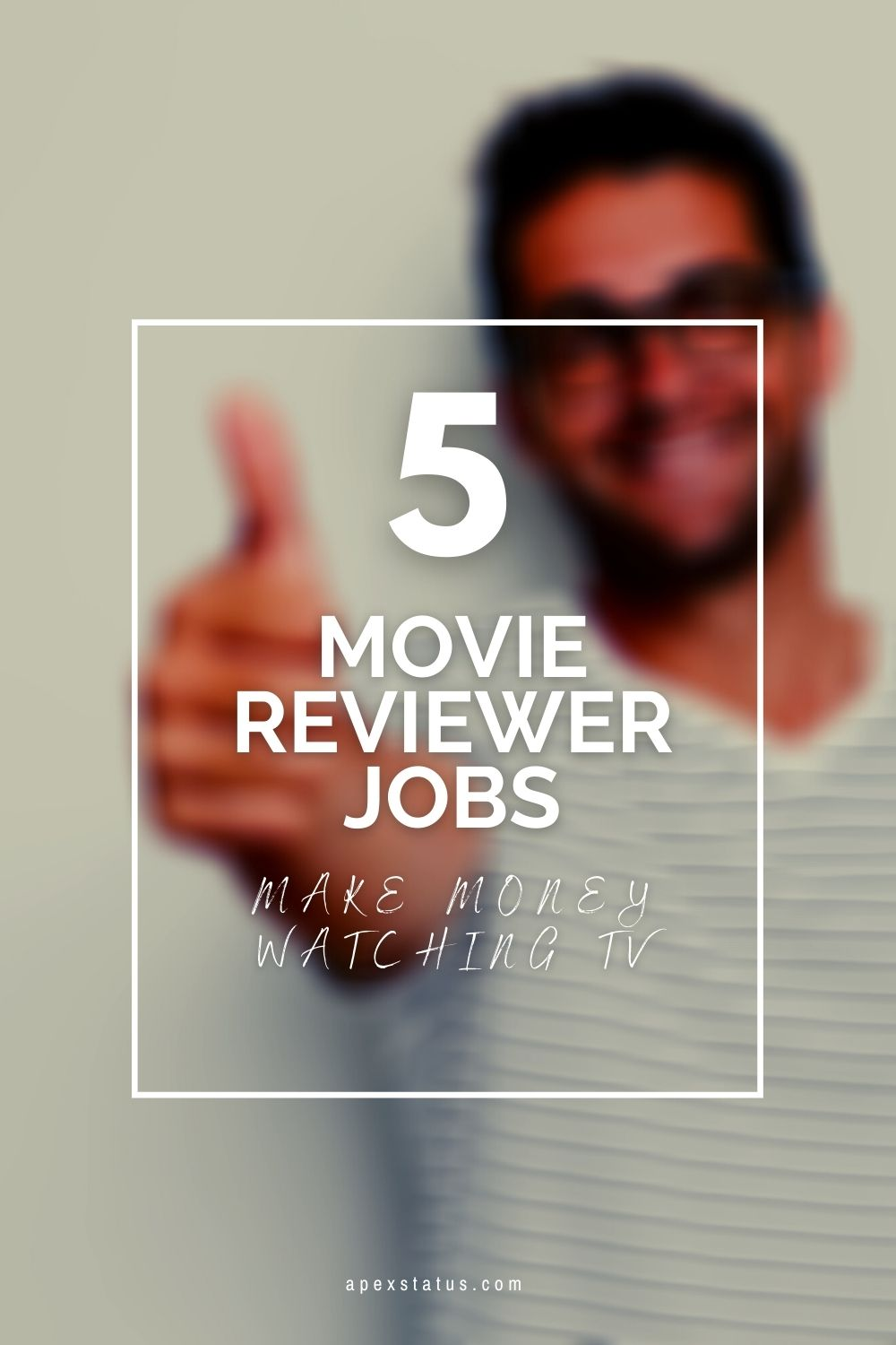 Movie Reviewer Jobs Pin