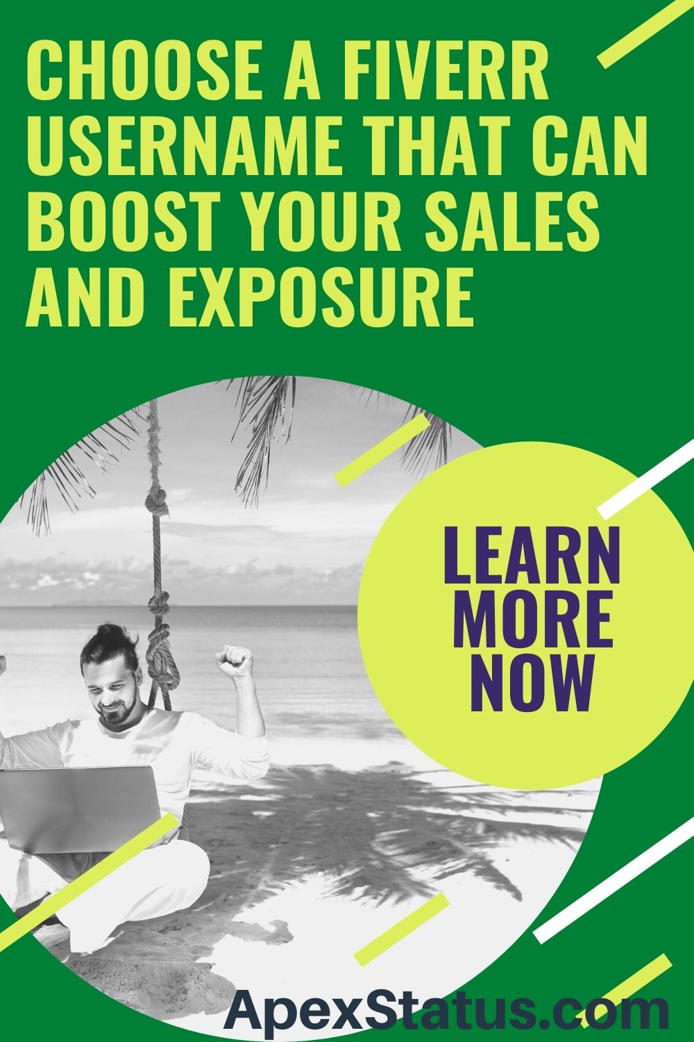 Choose a Fiverr Username That Can Boost Your Sales and Exposure Pin